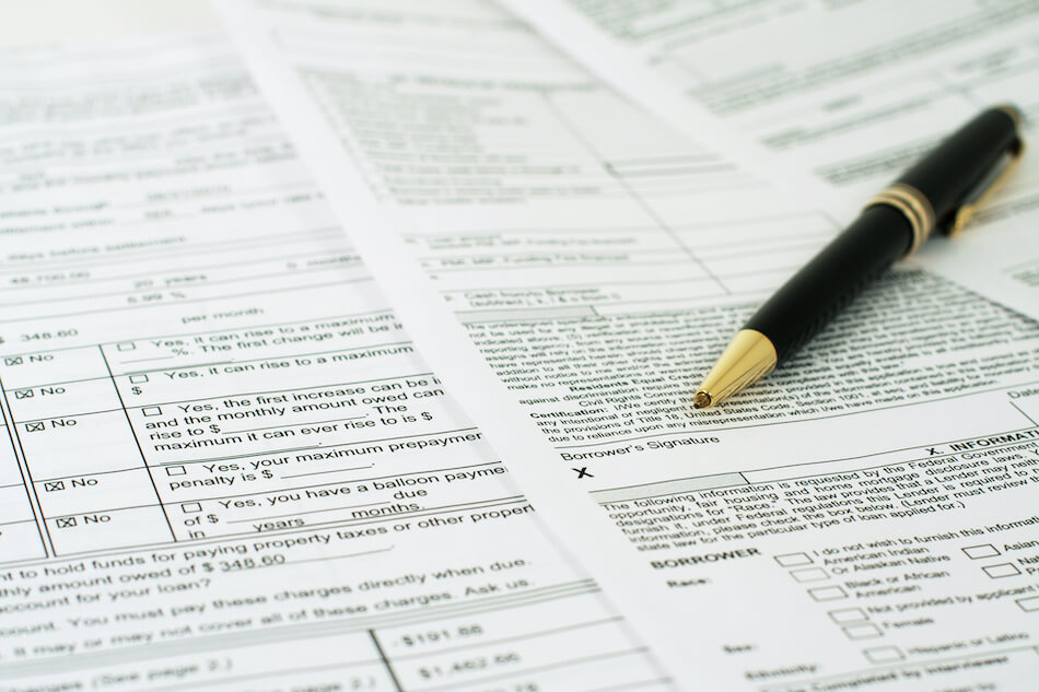 Which Documents are Required by Differnet Loans