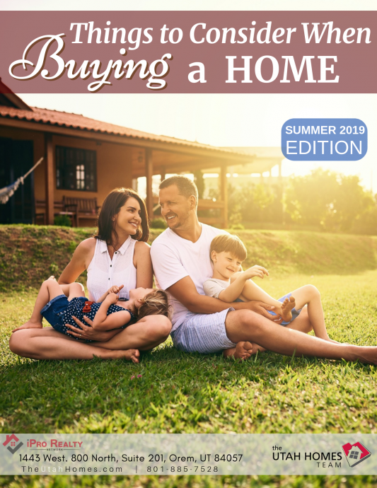 Things to consider when buying a home 2019
