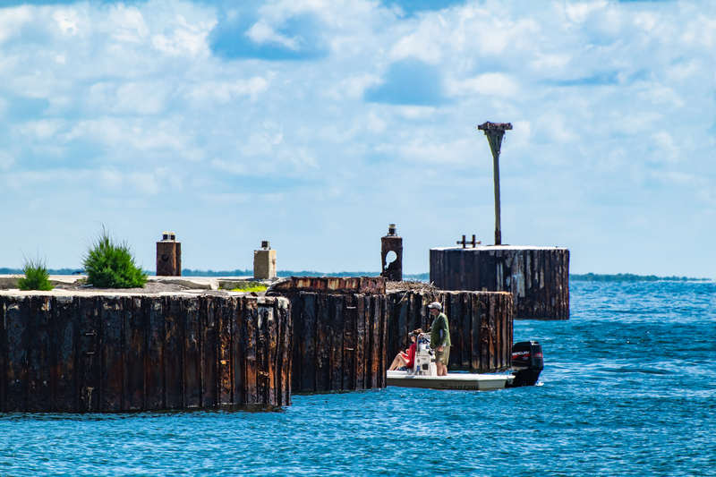 Old Dock at Boca Grande Pass