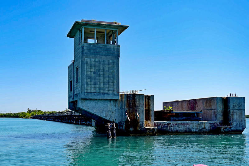 Old Boca Grande Railroad Bridge House