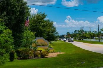 Deep Creek FL Entrance Sign