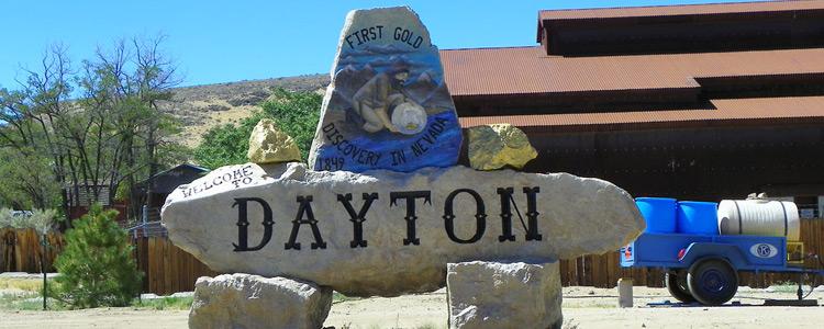 Moving to Dayton, Nevada