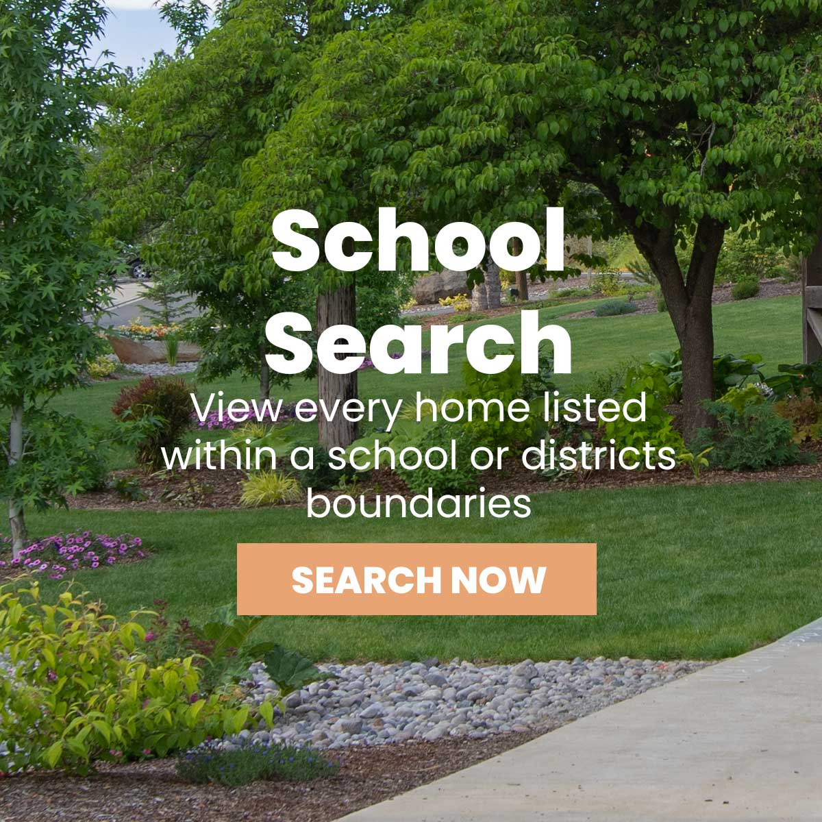 Search Real Estate by School