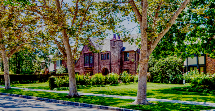 Hancock Park Tudor Home