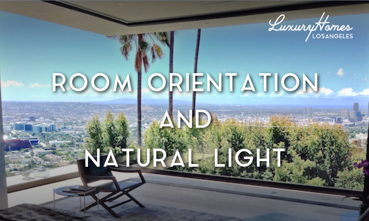Room Orientation and Natural Light