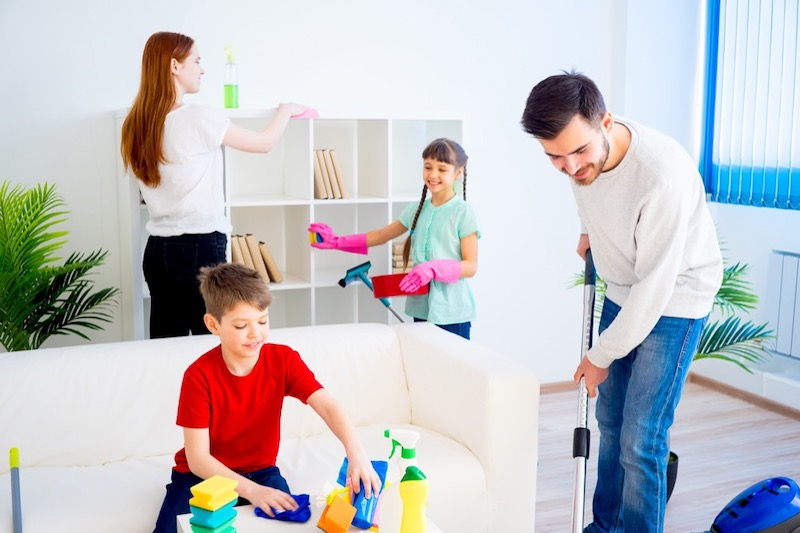 Cleaning Home to Reduce Allergens
