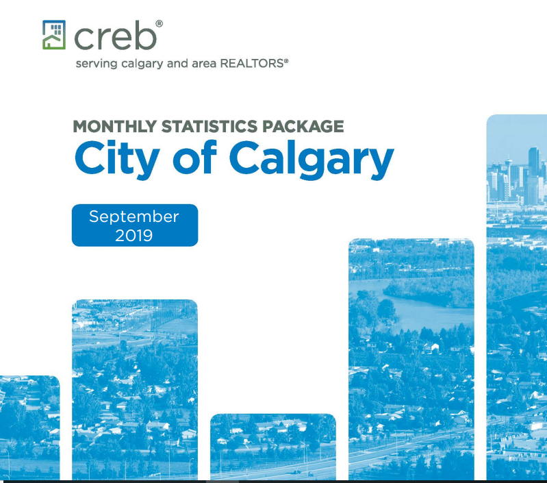 CREB MONTHLY STATISTICS PACKAGE City of Calgary