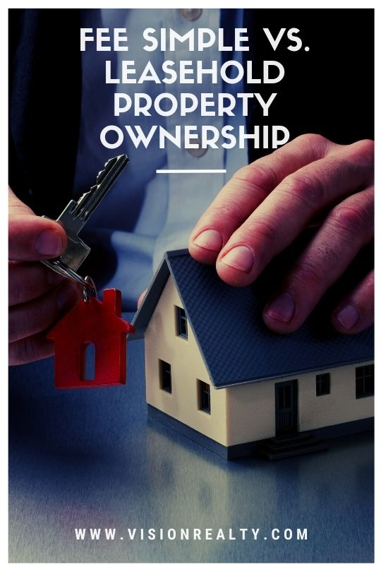 Fee Simple vs. Leasehold Property Ownership