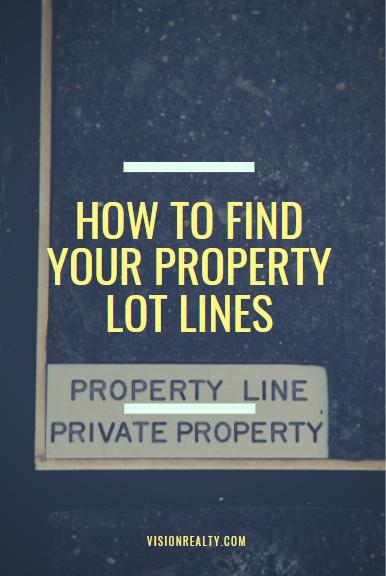 property lot lines