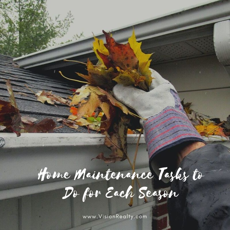 Home Maintenance Tasks to Do for Each Season