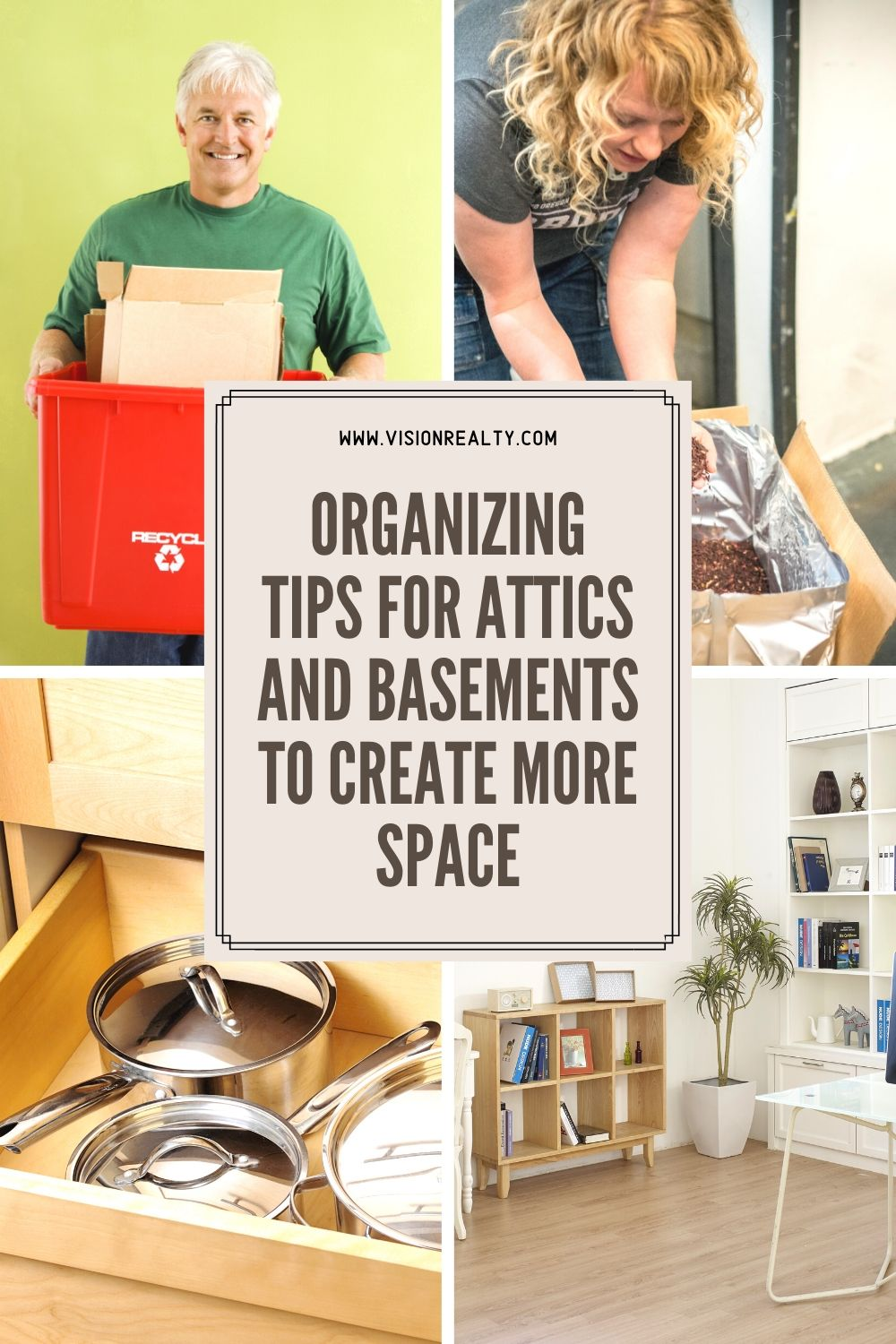 Organizing Tips for Attics and Basements to Create More Space