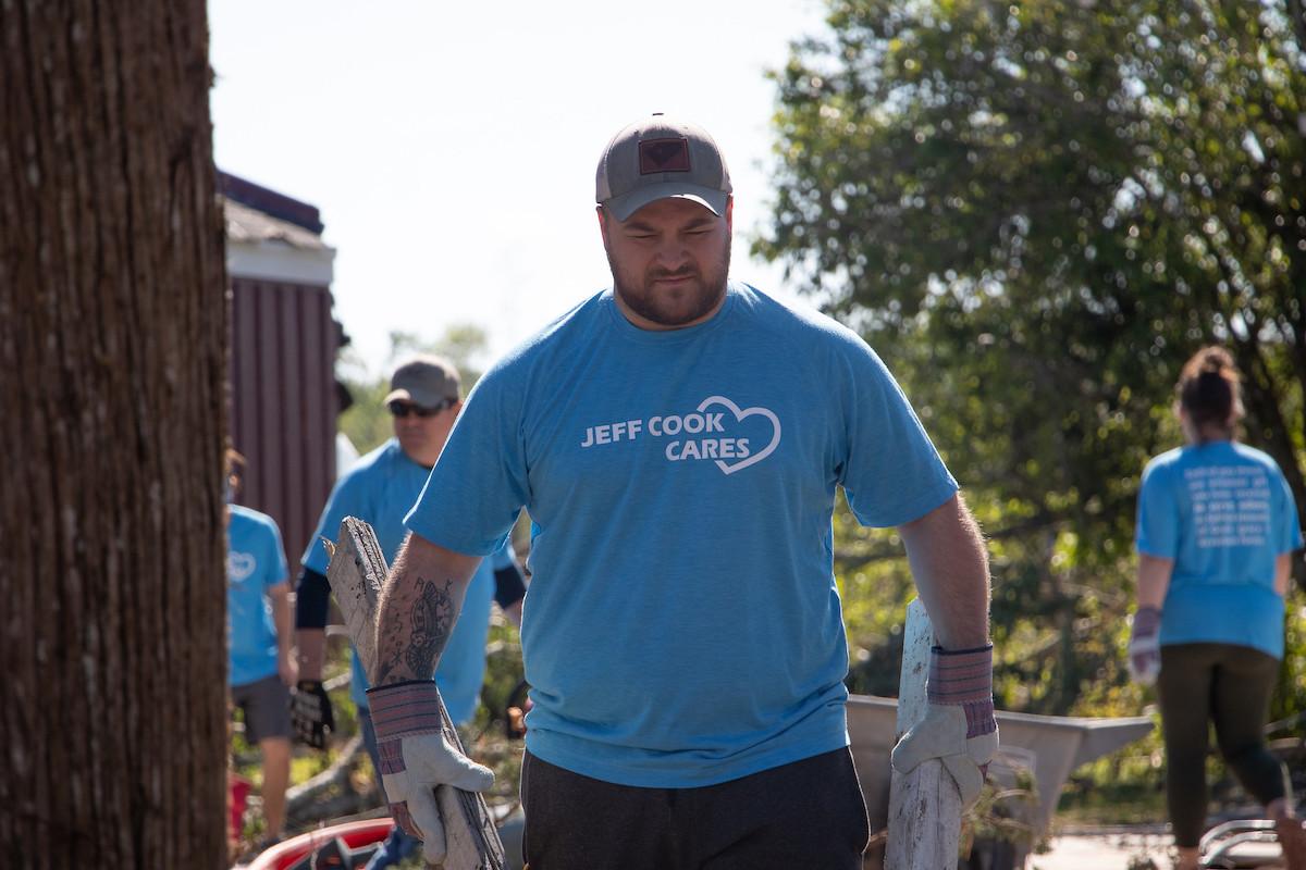 Jeff Cook Cares Relief Effort
