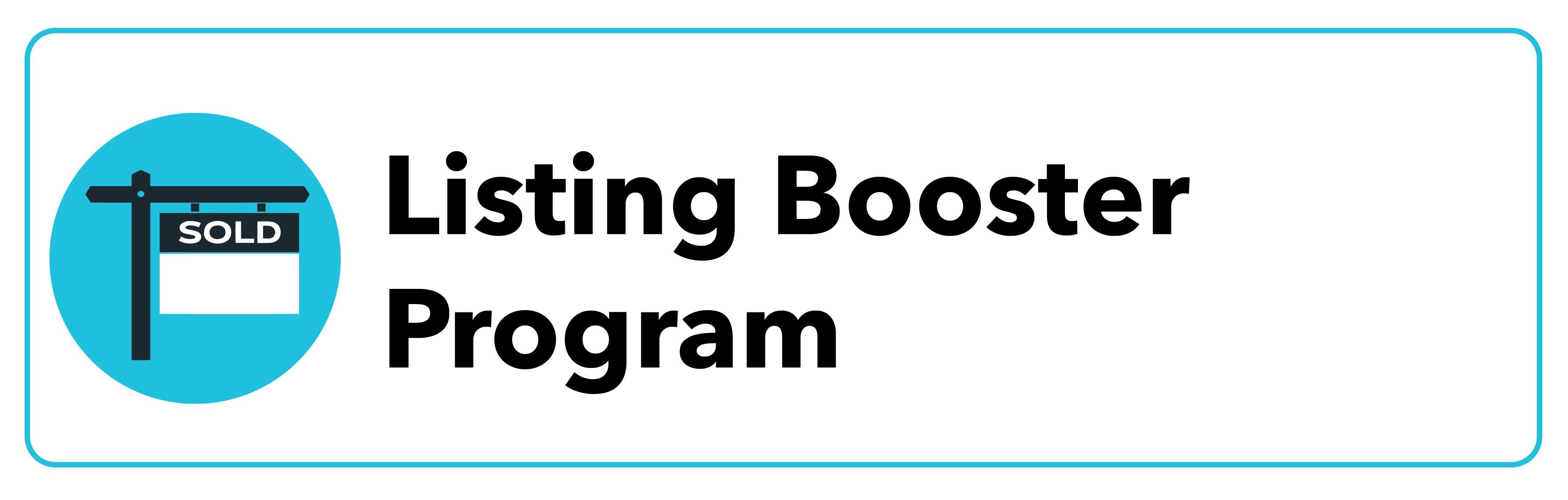Listing Booster Program