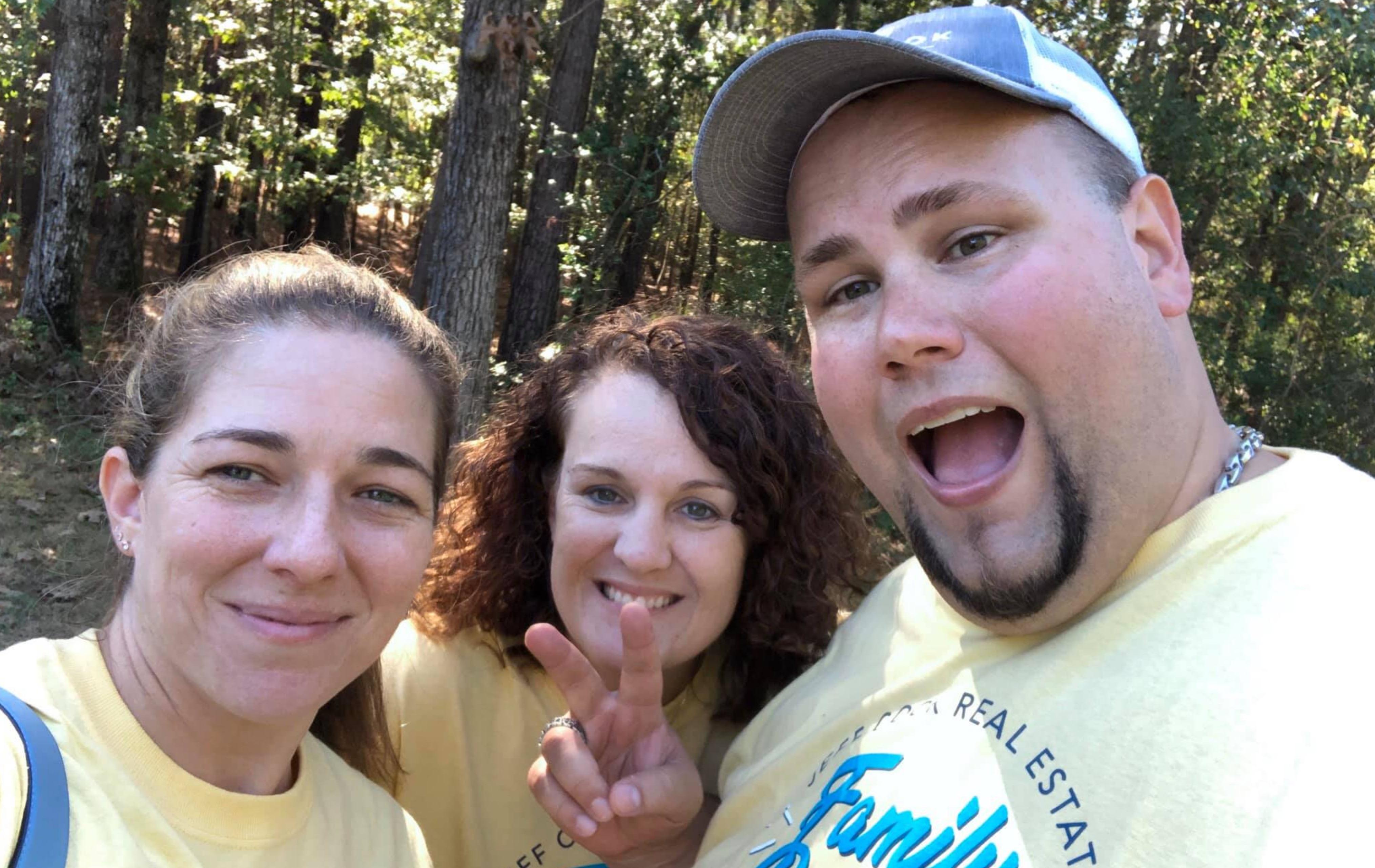 Jeff Cook, Sarah Cook and Jessica Clark at the JCRE reunion!