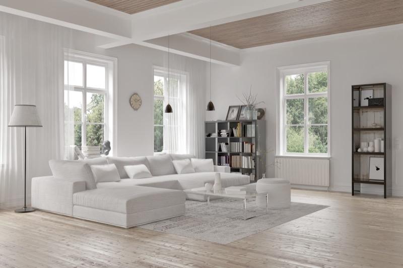 Cohesive Living Room Design