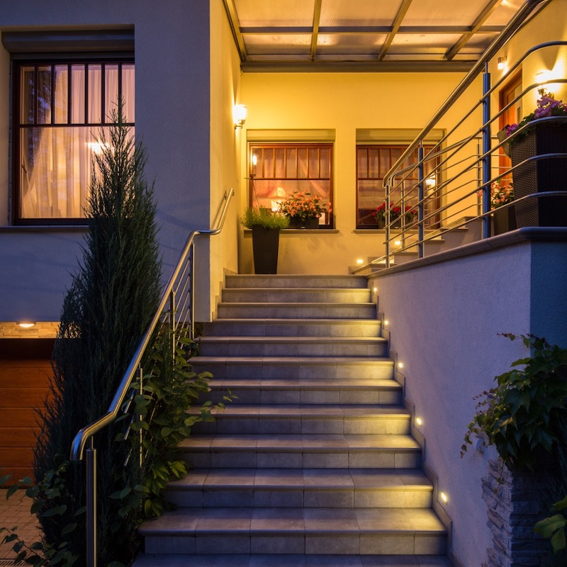 Lighting Outdoor Steps