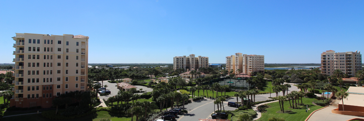 photo of a condo complex in new smyrna beach fl
