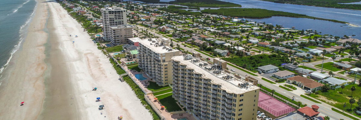 photo of condo buildings in ponce inlet, fl