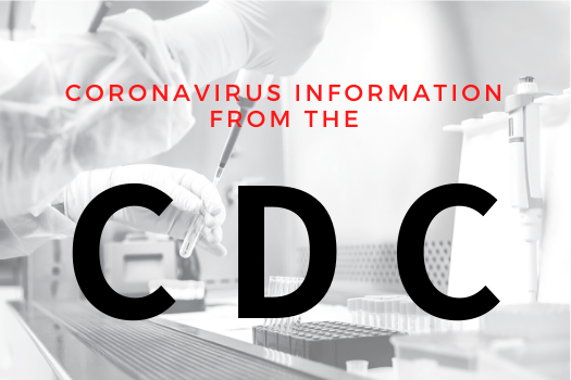 Graphic to access COVID-19 Info from CDC