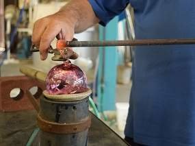 Glassblowing in Grapevine