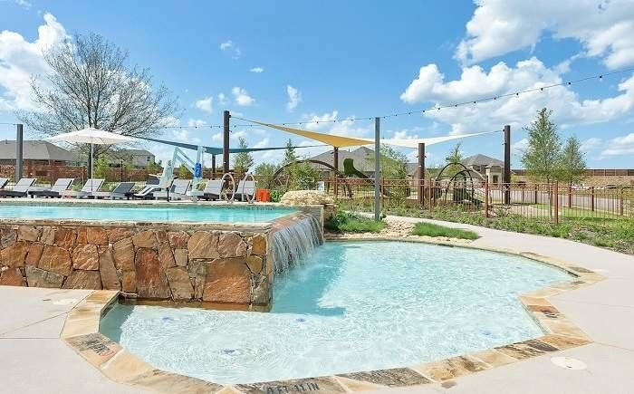 Canyon Falls Planned Community neighborhood pool