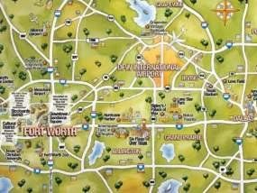 Colleyville, TX map