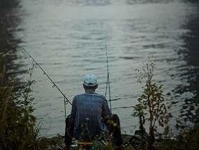 Fishing at Lake Grapevine