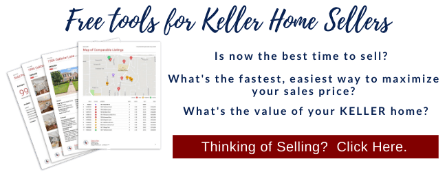 Get a property market analysis for your Keller, TX home