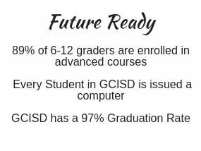 89% of GCISD 6-12 graders are enrolled in advanced classes