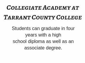 GCISD students can graduate High School with an associates degree