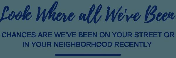 Neighborhoods we sell homes in