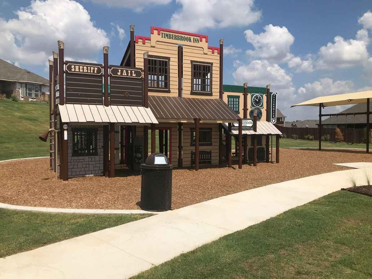 Timberbrook, Justin TX neighborhood playground