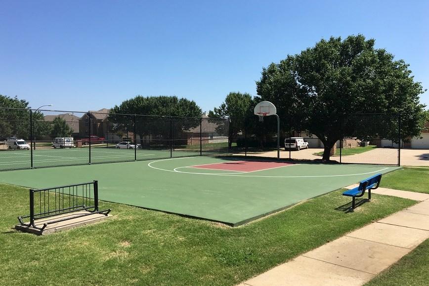 Park in Villages of Woodland Springs Neighborhood, Fort Worth TX