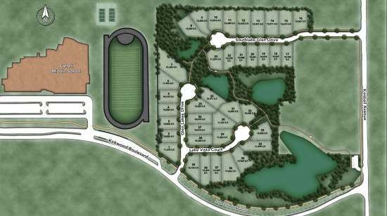 Southlake Glen Site Plan
