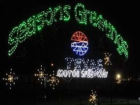 Texa Motor Speedway's Christmas Gift of Lights