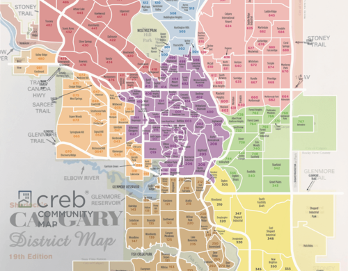 Calgary Community Map And Mls Map 2019