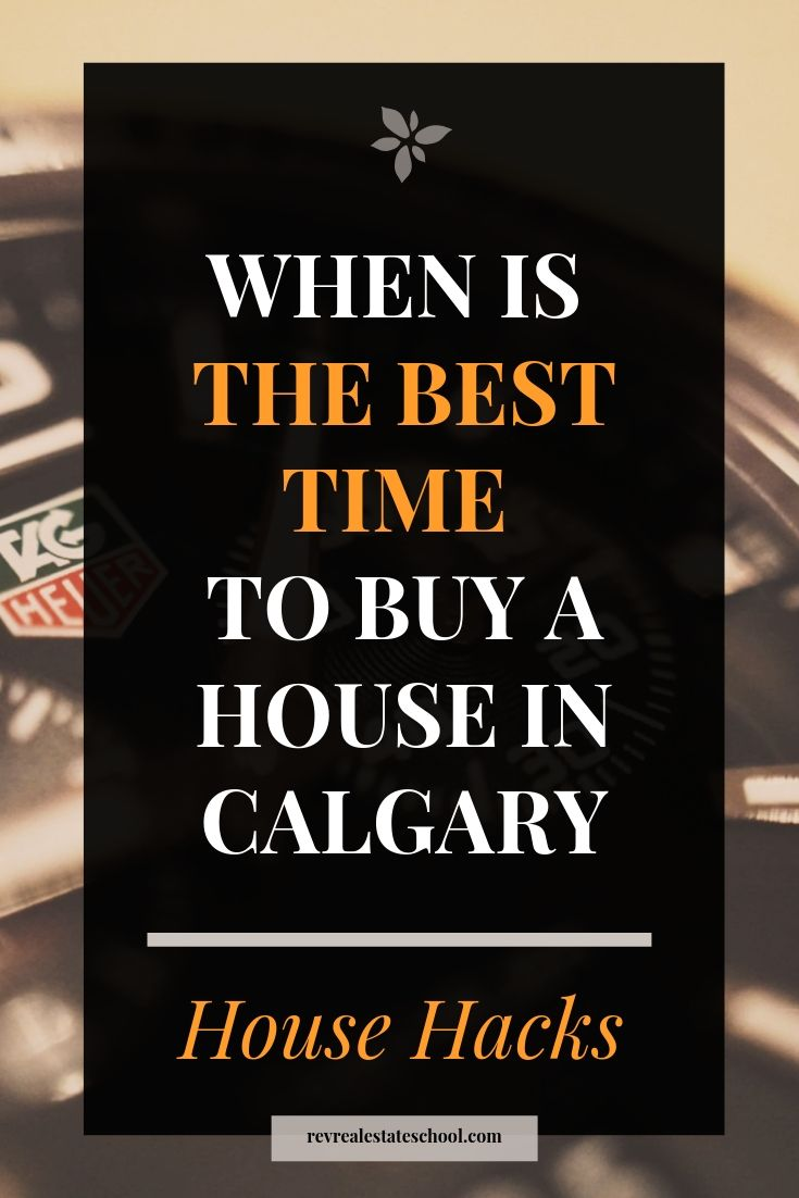 When is the best time to buy a house in Calgary