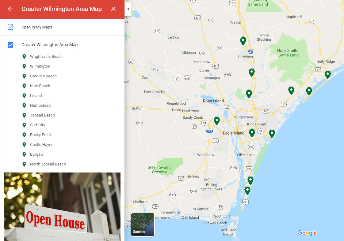 Wilmington Open Houses