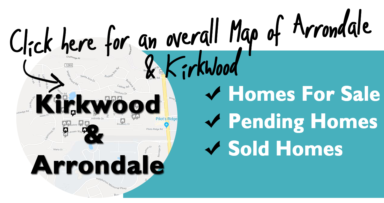 Map of Kirkwood homes for Sale