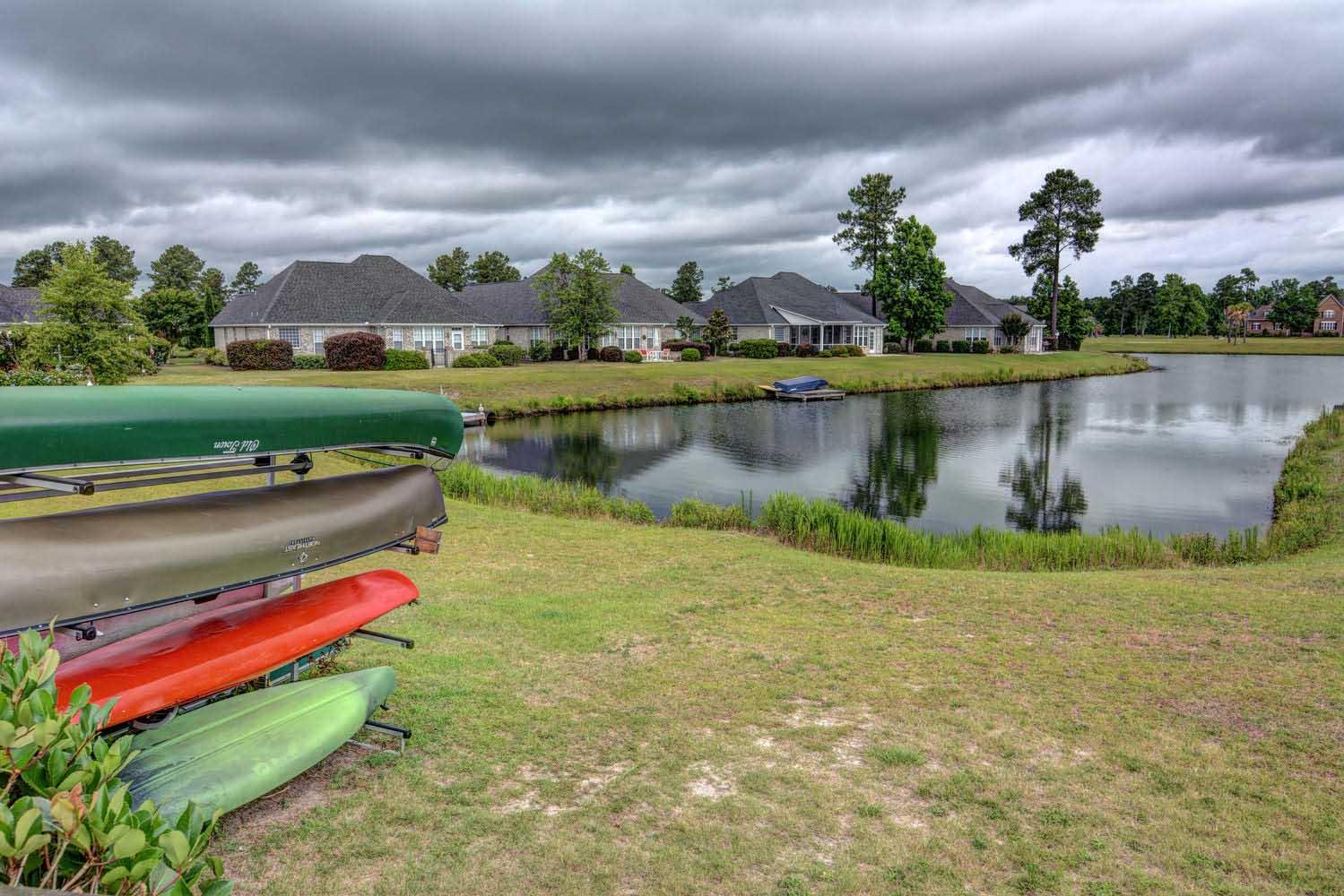 Waterford Kayak Storage