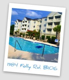 2 Bedroom, 2 Bath Condo Minutes from Folly Beach