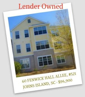 John's Island Lender Owned Condo
