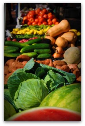 Charleston SC Farmers Market at Marion Square