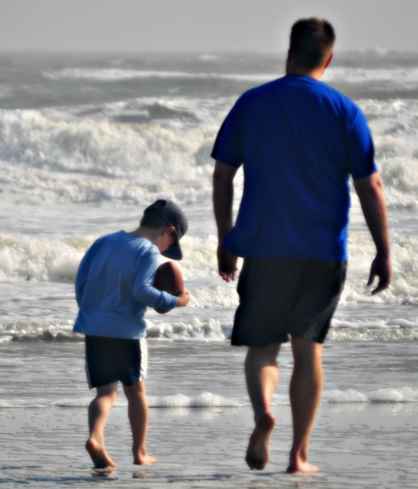 Father and son on Isle of Palms
