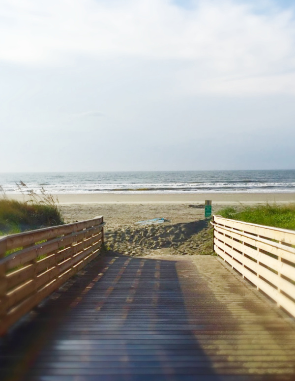 Isle of Palms after Hurricane Forence
