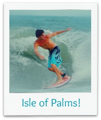 Surfing on the Isle of Palms