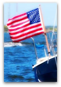 Boating in the Charleston Harbor