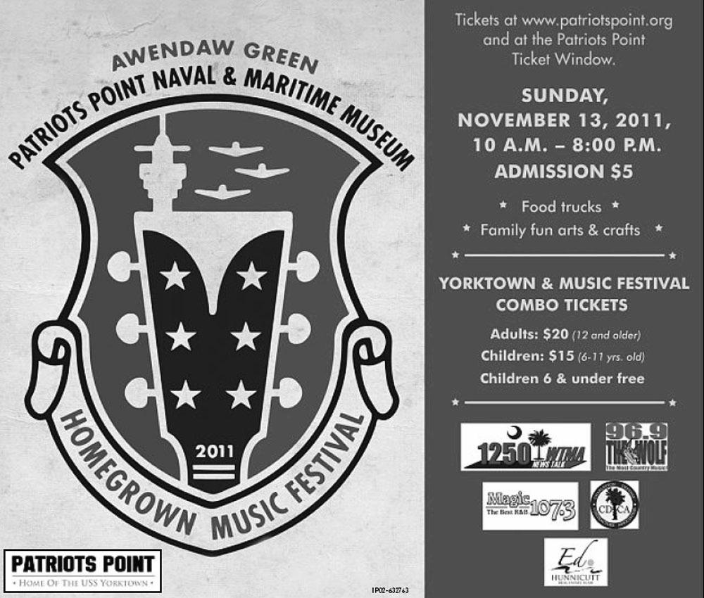 Mount Pleasant SC Veterans Day Event on USS Yorktown