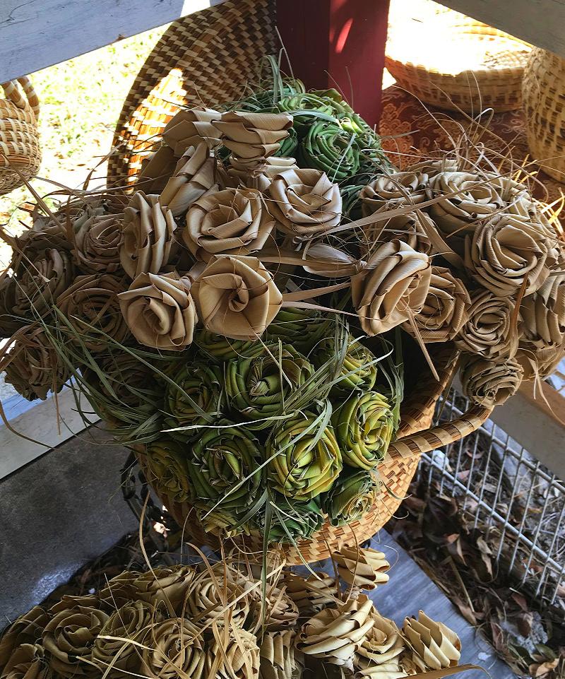 Mazie Brown Sweetgrass Baskets
