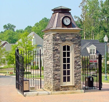 gated neighborhoods in Charlotte, gated communities in SouthPark
